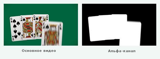 Как сделать в футаже альфа канал 5