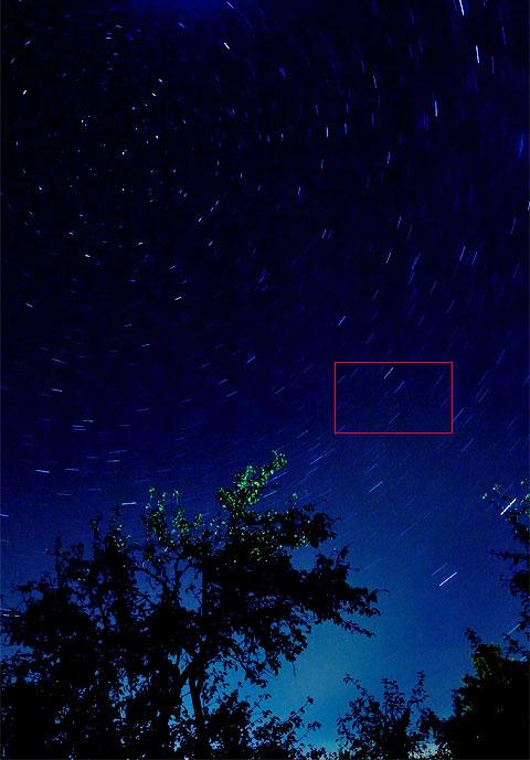 Звездное небо - Млечный путь