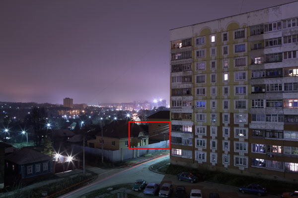 Long exposure noise reduction - Canon 5D, f/16, ISO 50, 10 мин, Capture One 5